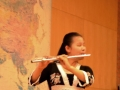 Me playing the flute at SU
